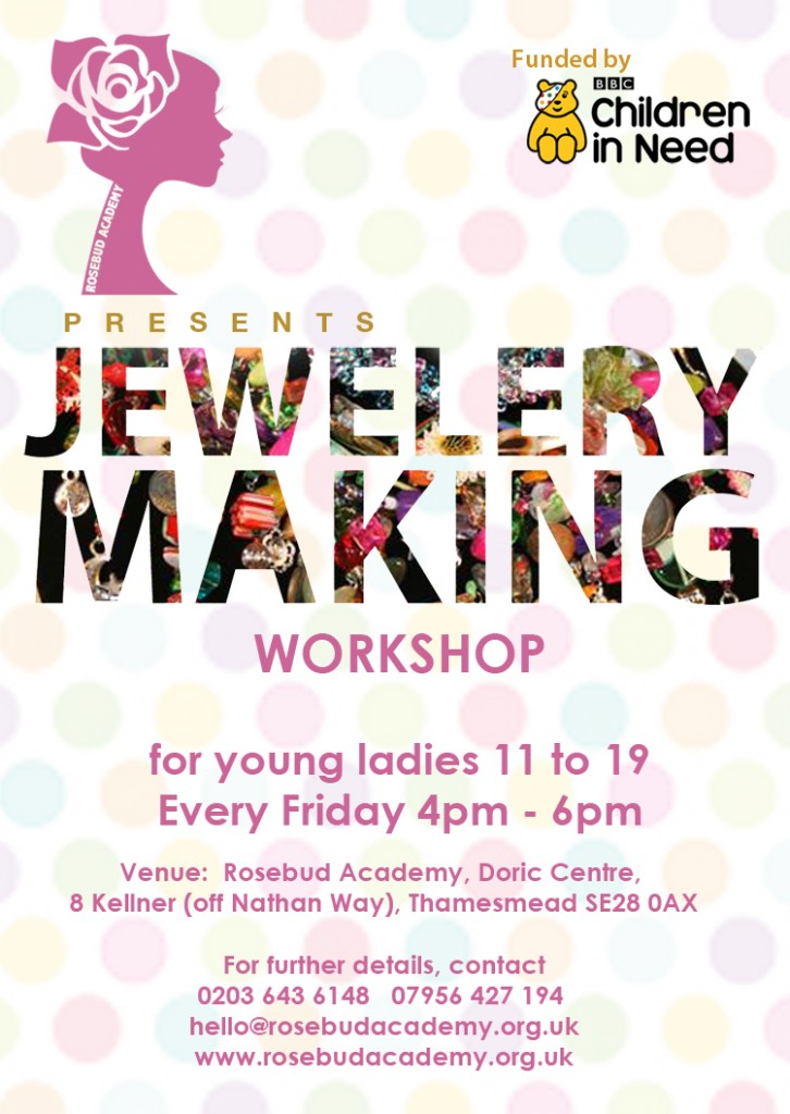 Jewellery making rosebud