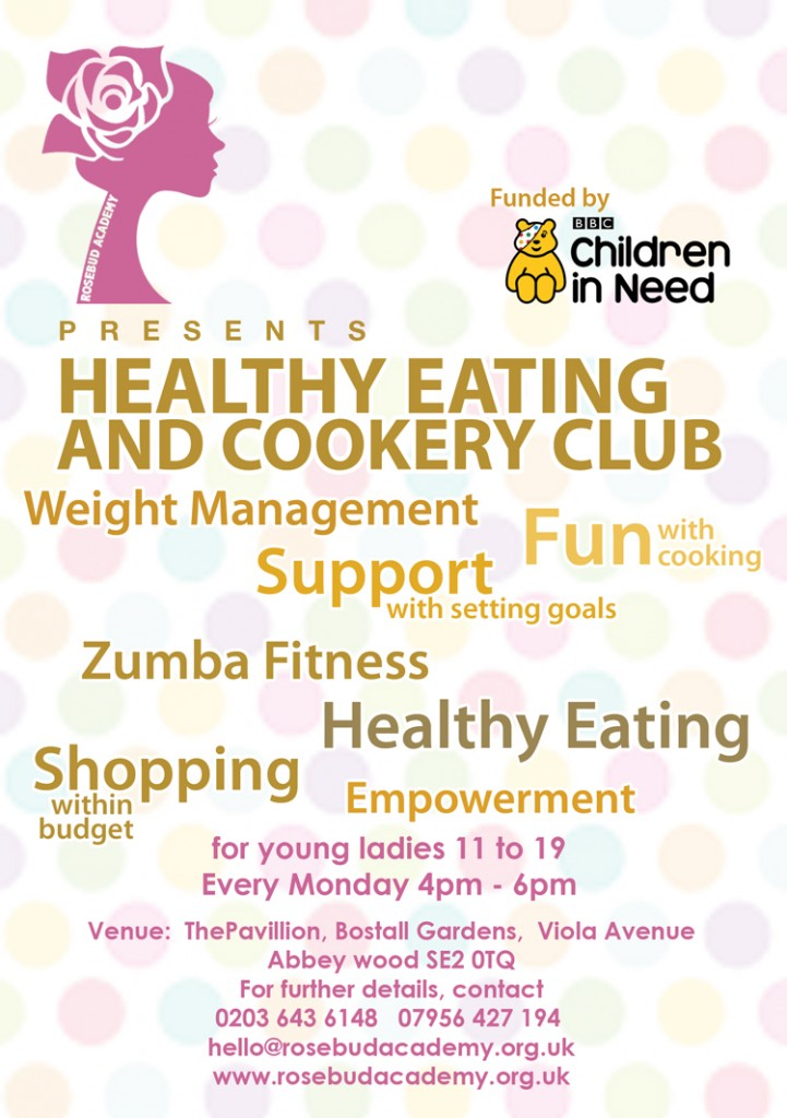 cookery club healthy eating workshop rosebud academy